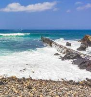 de Atlantische Oceaan bij Tenerife, op de Canarische Eilanden, 2014 foto