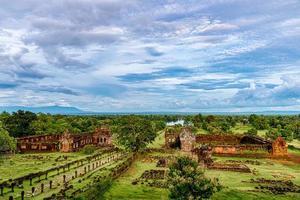 btw phou, wat phu is UNESCO-werelderfgoed in Champasak, Zuid-Laos. foto