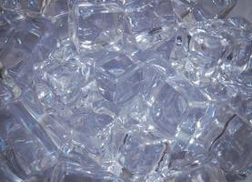 ijsblokjes, close-up foto
