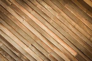 achtergrond van houten muur met diagonale hoek foto