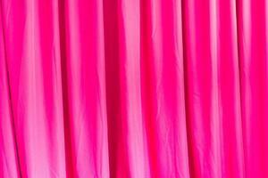 roze gordijntextuur gebruikt voor achtergrond foto