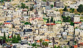 arabische buurt van jeruzalem foto