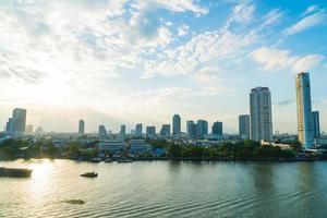 bangkok stad in thailand foto