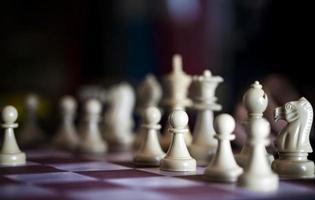 strategie spel schaken foto