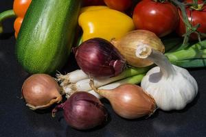 groenten vers en gezond foto