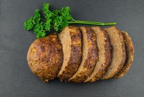 traditioneel Duits gehaktbrood foto