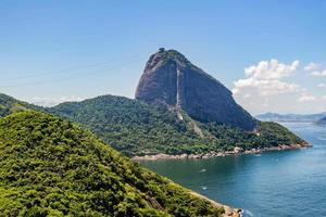 suikerbroodberg in rio de janeiro, brazilië foto