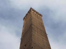 due torri twee torens in bologna foto