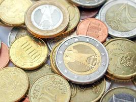 euromunten, europese unie foto