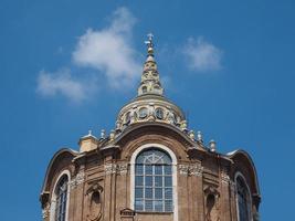 capella della sindone in turijn foto