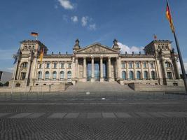 rijksdag parlement in berlijn foto