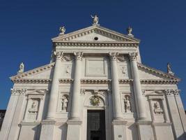 san giorgio kerk in venetië foto