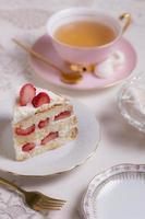 het elegante tea party assortiment foto