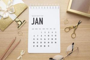 tijdorganisatieconcept met plannerweergave foto