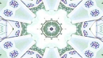 abstracte geldcaleidoscoop foto