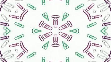 cijfers en letters caleidoscoop foto