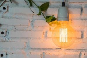 mooi licht lamp decor gloeiend foto