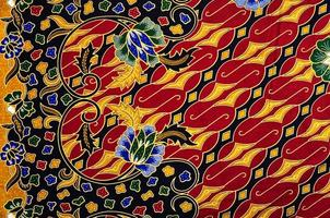 patroon voor traditionele kleding Maleisië omvat batik foto