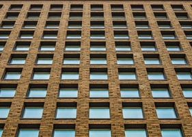 moderne architectuur, perspectief. geometrie. foto