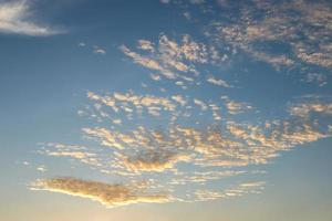 prachtig landschap van zonsopgang en zonsondergang foto