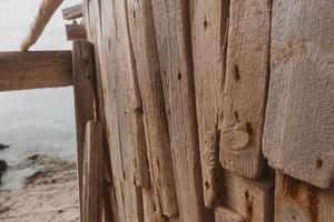 formentera strand van calo d es mort op de balearen. foto