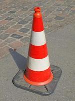 verkeerskegel teken foto