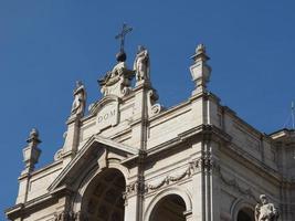 ss annunziata kerk in turijn foto