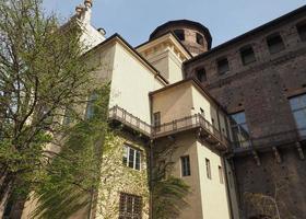 palazzo madama in turijn foto