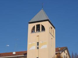 santa monica kerk in turijn foto