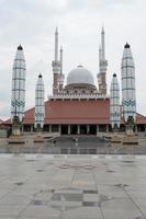 grote moskee van Midden-Java, Indonesië foto