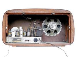 oude am radiotuner foto