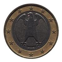 twee euro eur munt, europese unie eu foto