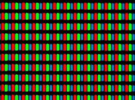 lcd-scherm microfoto foto