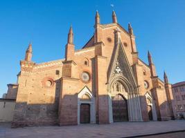 chieri kathedraal, italië foto