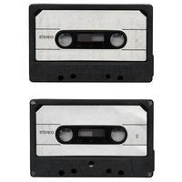 tape cassette geïsoleerd foto