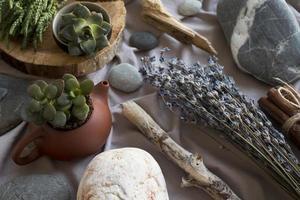 het traditionele feng shui-arrangement foto