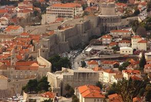 oude stad dubrovnik, kroatië foto