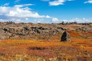 ijsland prachtig landschap, ijslands natuurlandschap. foto