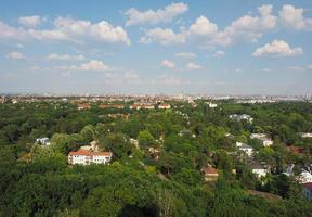 luchtfoto van berlijn foto
