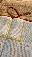 foto's van de koran en gebedskralen, deze foto's zijn perfect voor foto