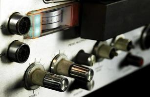 vintage analoge retro bandrecorder foto