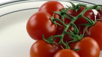 biologische gezonde tomatengroente foto