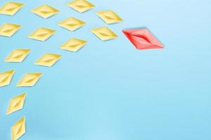 het beste leiderschap van leider en baas in organisatieconcept foto