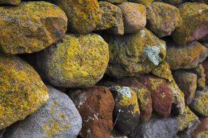 of kleurrijke muur foto