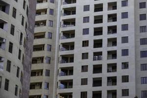 modern gebouw in de stad foto