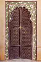 sierlijke Indiase deur foto