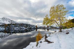 stuwmeer alpine foto
