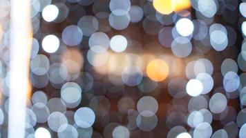 Kerstmis gouden achtergrond. gloeiende achtergrond. onscherpe achtergrond foto
