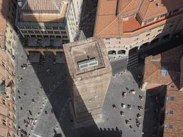 luchtfoto van bologna foto