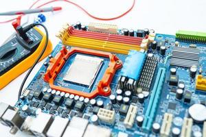 multimeter met moederbord, onderhoud, reparatie foto